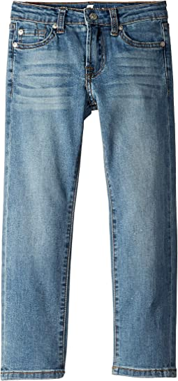 Slimmy Airweft Stretch Denim Jeans in Satellite Sky (Little Kids/Big Kids)