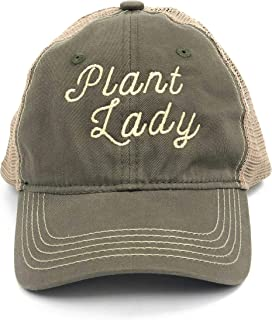 HDCo Plant Lady Hat, Plant Lady Gift, Succulent Lovers, Garden Gifts for Women, Plant Lover Gifts, Plant Gift, Gifts for Gardeners Women, Plant Gifts for Women Olive, Khaki