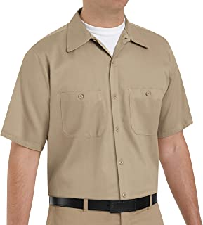 Red Kap Men's Enhanced Visibility Cotton Work Shirt