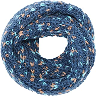 Simplicity Men/Women Knit Infinity Scarf, Solids & Patterned