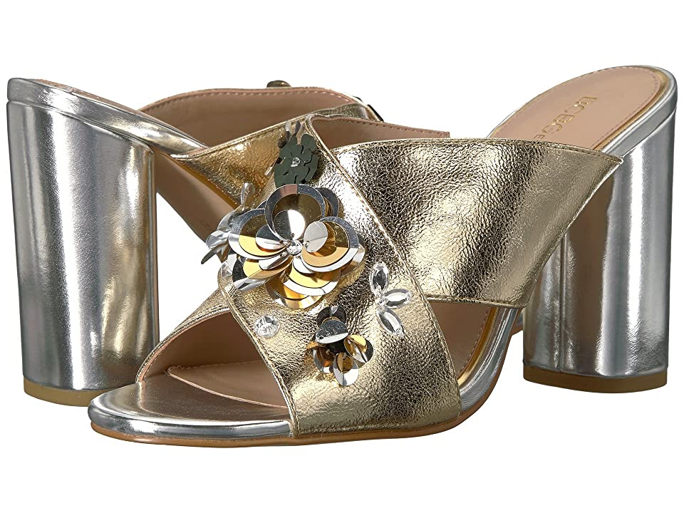 BCBGeneration Fabia (Light Gold Scrunched Metallic) Women
