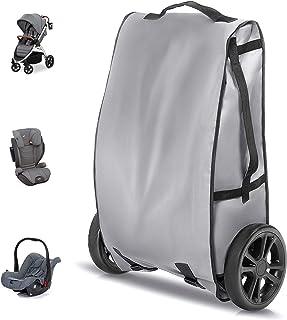 Zamboo Universele Transporttas voor Kinderwagen, Buggy, Autostoeltje - Beschermhoes voor transport van kinderzitjes en wan...