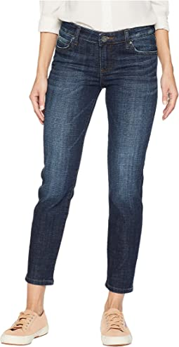 Catherine Ankle Straight Leg Jeans in Intensity