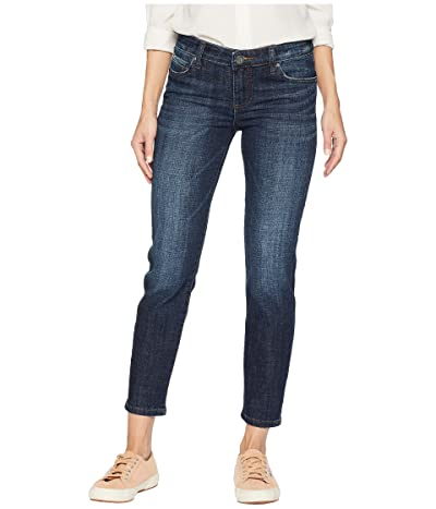 KUT from the Kloth Catherine Ankle Straight Leg Jeans in Intensity (Intensity/Euro Base Wash) Women