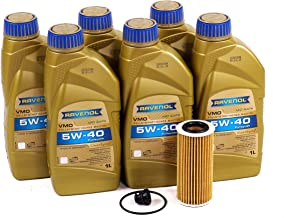Blau J1A5120-i Motor Oil Change Kit - Compatible with 2015-16 Audi S3 w/ 4 Cylinder 2.0T Engine – 5w40