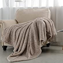 SOCHOW Sherpa Fleece Throw Blanket, All Seasons Lightweight Fuzzy Warm Super Soft Plush Blanket for Bed, Sofa and Couch, 5...