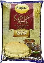 Sujata Gold Sharbati Whole Wheat Flour, 10 Pound