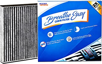 Spearhead Premium Breathe Easy Cabin Filter, Up to 25% Longer Life w/Activated Carbon (BE-285)