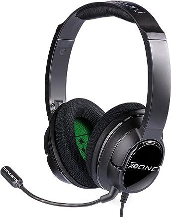 Headset com Ear Force - Preto/Verde - Xbox One