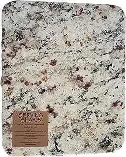 Handmade Reclaimed Granite Cheeseboard with Rough Chiseled Edge, 12