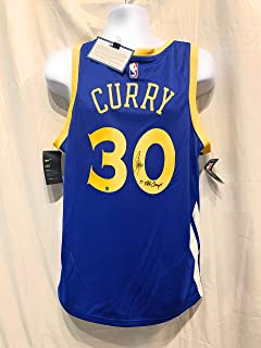e864b36349f Stephen Curry Steph Golden State Warriors Signed Autograph Nike Swingman  Jersey 17 NBA CHAMPS INSCRIBED Steiner