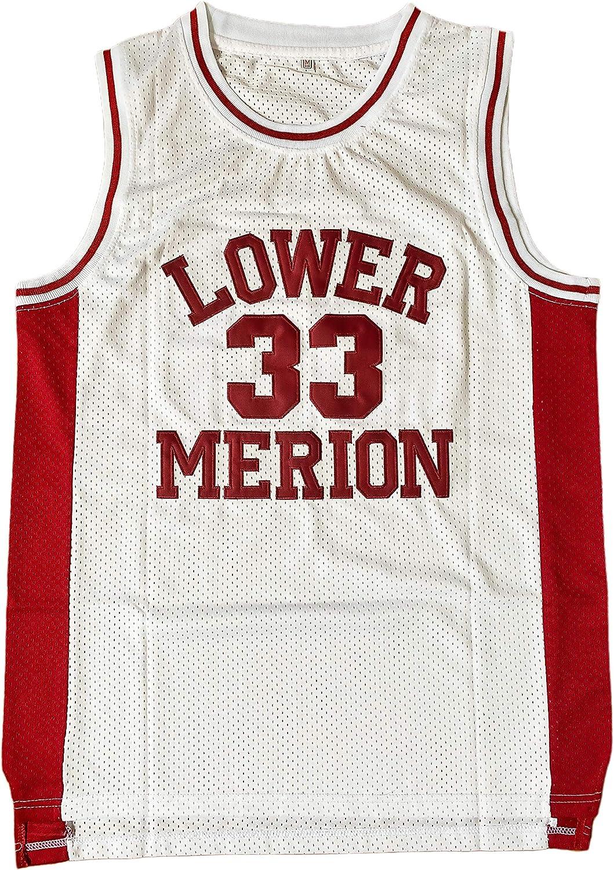 Amazon.com: EHCSROP Mens #33 High School Basketball Jersey for ...