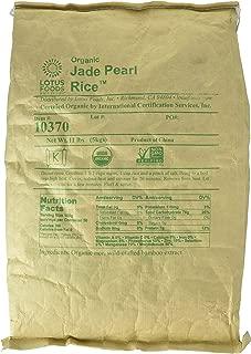 Lotus Foods Gourmet Organic Jade Pearl Rice, 11 Pound (Pack of 1)