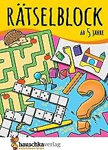 Rätselblock ab 5 Jahre, Band 1: Kunterbunter Rätselspaß: Labyrinthe, Fehler finden, Suchbilder, Sudokus u.v.m. (Rätseln, knobeln, logisches Denken, Band 630)