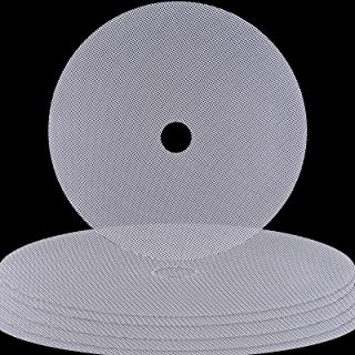 Feuilles de déshydrateur de silicone, Sopito 6 pièces Rond Antiadhésif Réutilisable Feuilles de déshydrateur de fruits