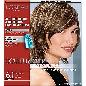 L'Oreal Paris Couleur Experte 2-Step Home Hair Color & Highlights Kit