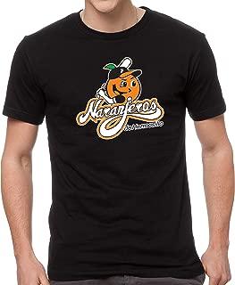 Naranjeros de Hermosillo Baseball Men's T-Shirt Crew Neck 100% Cotton
