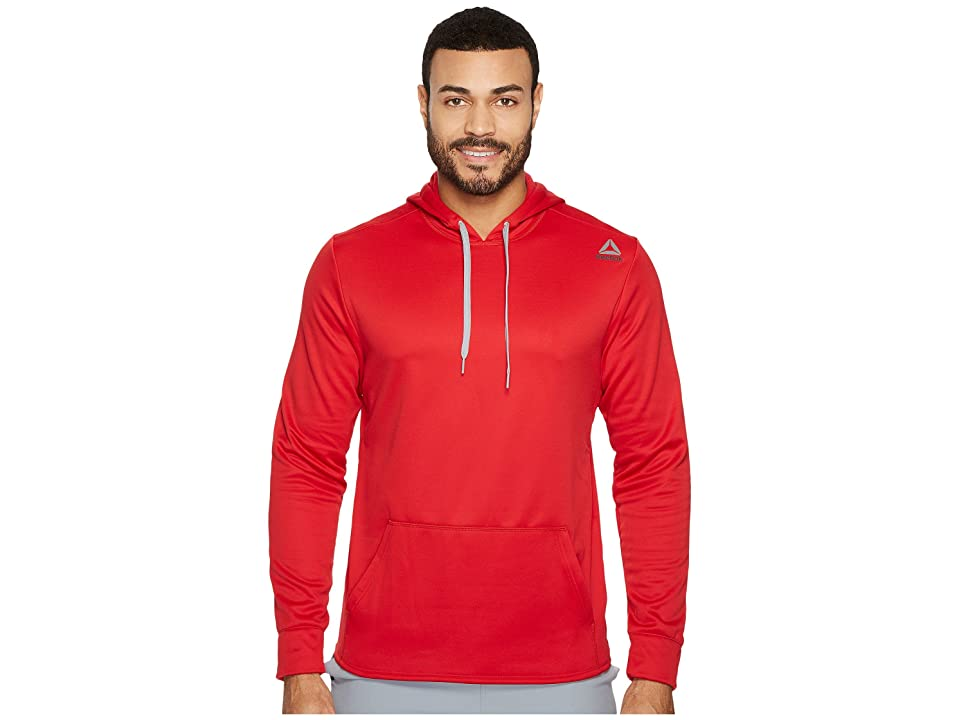 Reebok Fleece Hoodie (Excellent Red) Men