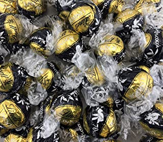 Lindt LINDOR 70% Cocoa Dark Chocolate Truffles, Gold Black Wrap (Pack of 2 Pounds) (1 PACK)