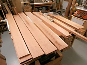 Cherry Rough Sawn Wood Board Lumber, 2 inches Wide x 3 feet Length x 1 inches Thick - Choose Your Size -