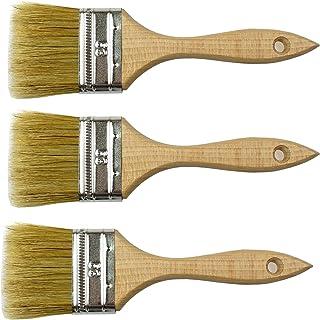 Peinture poils naturels Lot de 3 outils de 2,48 63 mm