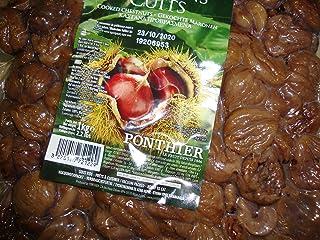 castañas cocidas marrón cocidas 1 Kg