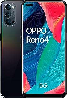 OPPO Reno4 5G Dual-SIM 128GB ROM + 8GB RAM Factory Unlocked Android Smartphone (Galactic Blue) - International Version