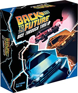 Ravensburger Back to The Future Strategy Board Game for Adults & Kids Age 10 Up - Dice Through Time
