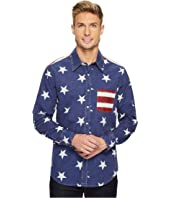 Rock and Roll Cowboy - Long Sleeve Snap B2S3159