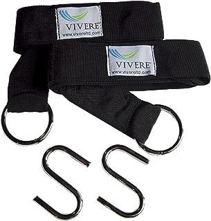 Vivere EFHTS Hammock Accessories, Double, Black