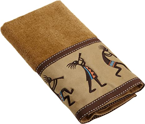 Nutmeg Avanti Linens Kokopelli Bath Towel