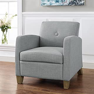 Best gray upholstered dean chair Reviews