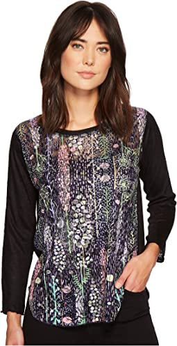 Nally & Millie - Lace Contrast Top