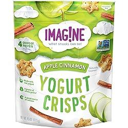 Imag!ne Apple Cinnamon Yogurt Crisps, 4.5 Ounce Bag