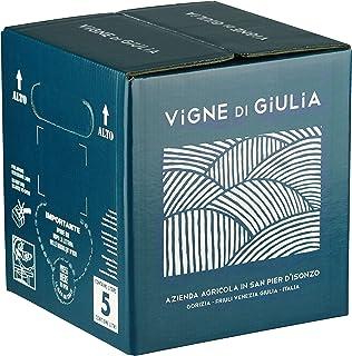 Bag in Box vino Refosco dal Peduncolo Rosso IGT Venezia Giulia 12% - Vigne di Giulia - confezione 5 L
