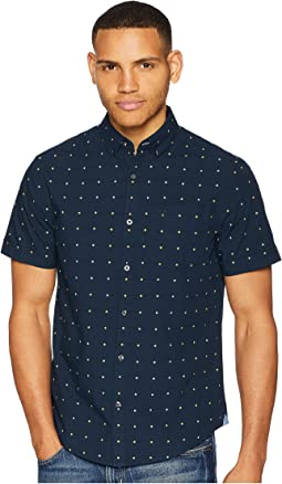 Original Penguin Short Sleeve Daisy Dobby Shirt
