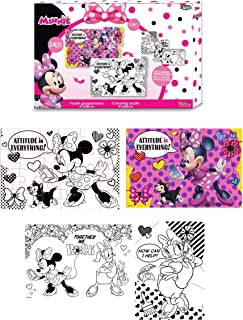 Amazon Fr Coloriage Minnie Loisirs Creatifs Jeux Et Jouets
