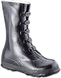 Honeywell Safety A351-8 Servus Rubber Hi Overshoe with 5-Buckle, Size-8, Black