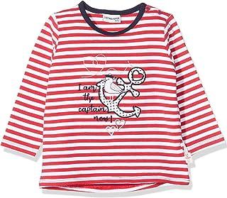 Salt & Pepper Baby Girls' Gestreift Mit Anker Stickerei Dress