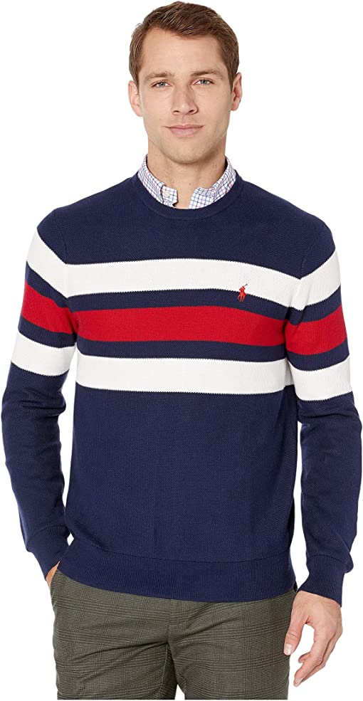 Newport Navy/Polo Sport Red/White