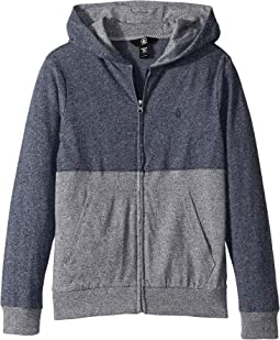 Wowzer Color Block Hooded Zip-Up (Big Kids)
