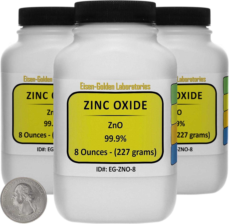 Zinc Oxide ZnO 99.9% Popularity ACS Grade Three Spring new work 1.5 Lb in Powder Space-Sa