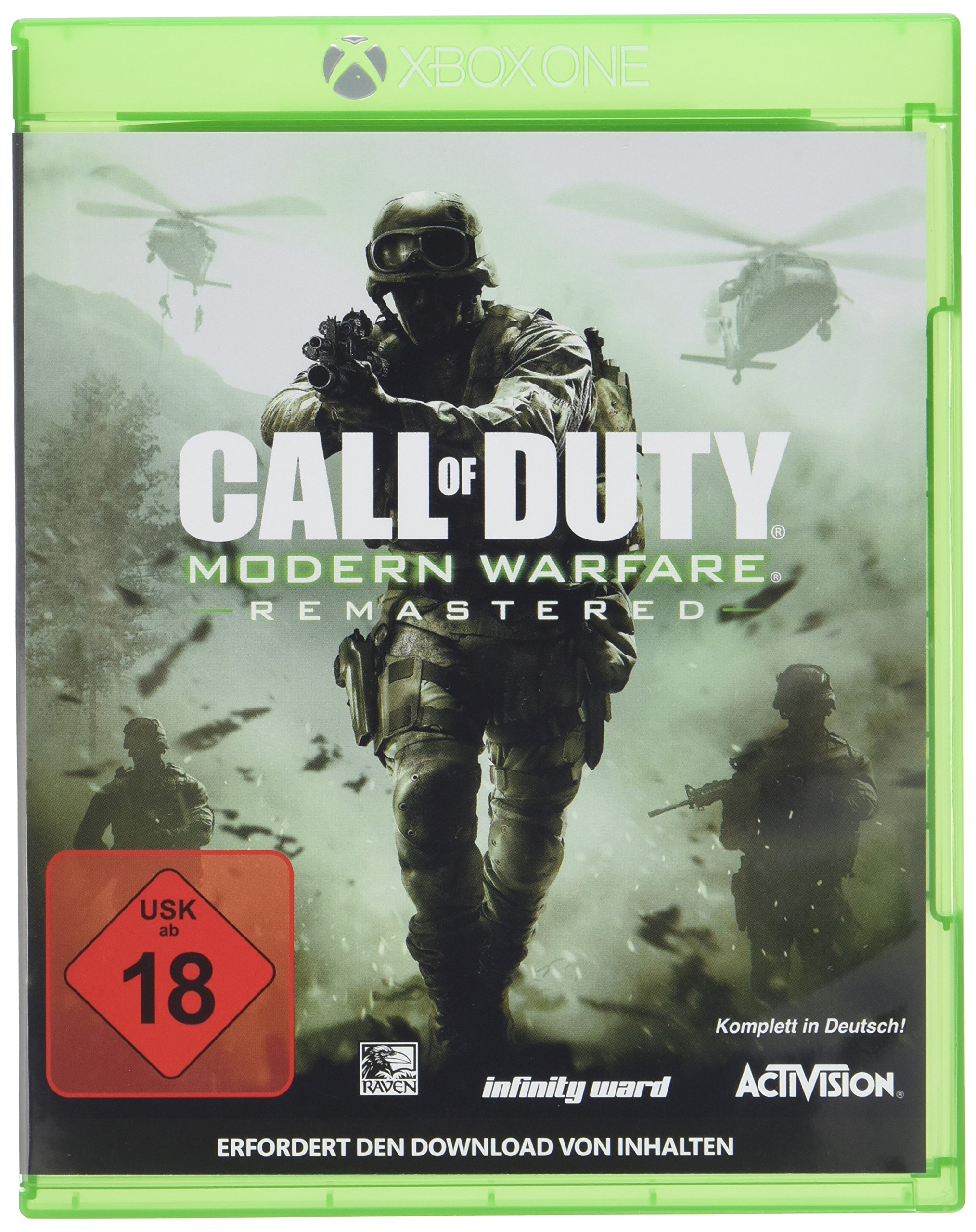 Call of Duty: Modern Warfare Remastered - Xbox One [Importación ...