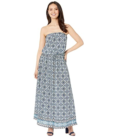 Tolani Aegean Maxi Dress (Navy) Women
