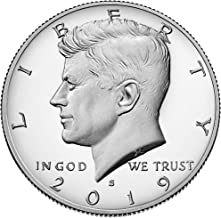 2019 S Kennedy 2019 S Silver Kennedy Half Dollar in .999 Silver Proof Coin Half Dollar PF-1 US Mint