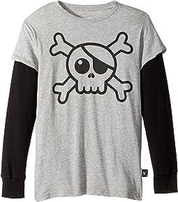 Nununu - Skull T-Shirt (Little Kids/Big Kids)