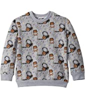 Moschino Kids - Sweatshirt w/ All Over Music Toy Bear Print (Little Kids/Big Kids)