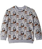 Moschino Kids - Sweatshirt w/ All Over Music Toy Bear Print (Little Kids/Big Kids)