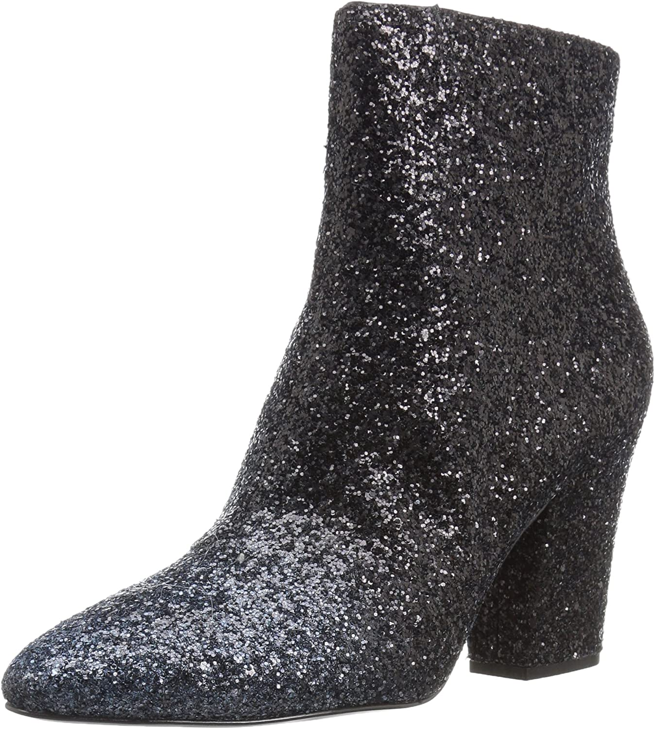 Nine West Womens Savitra Synthetic Ankle Boot