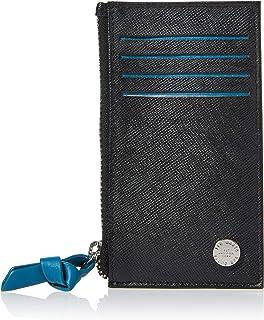 Ted Baker Men's ROMAR Travel Accessory-Envelope Card Holder, Black, One Size